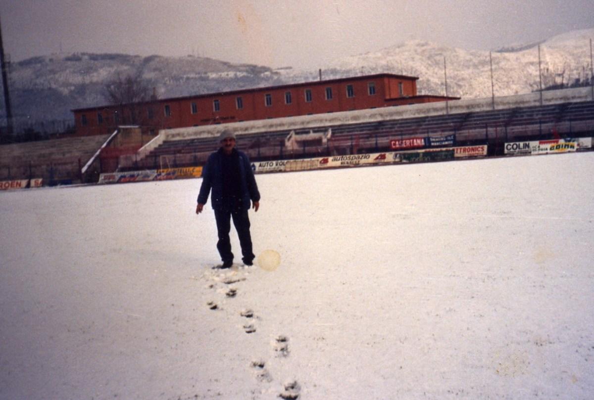 Storia&Storie: quando la neve fermò Casertana-Turris